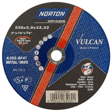 Tarcza do cięcia T41 NORTON VULCAN