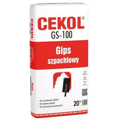 Gips szpachlowy GS-100 20 kg CEKOL