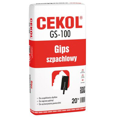 Gips szpachlowy GS-100 CEKOL