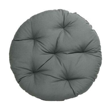 Poduszka okrągła Brasil szara śr. 65 cm