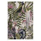 Dywan zewnętrzny w liście Borneo zielono-różowy 60 x 90 cm