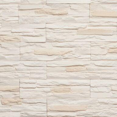 Kamień dekoracyjny gipsowy ACEBO Ecru 37,5 x 10 cm 0.38m2 Incana