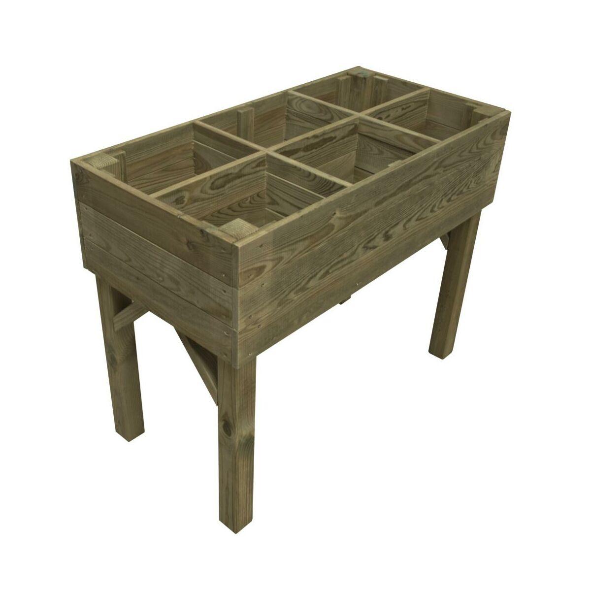Warzywnik – zielnik 100 x 50 cm drewniany STELMET