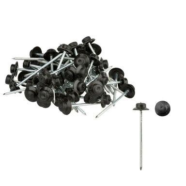 Gwóździe do płyt falistych Czarne 65 x 18 ONDULINE