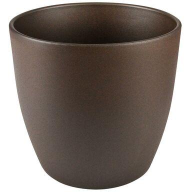 Doniczka ceramiczna 18 cm beżowa EMI CERAMIK