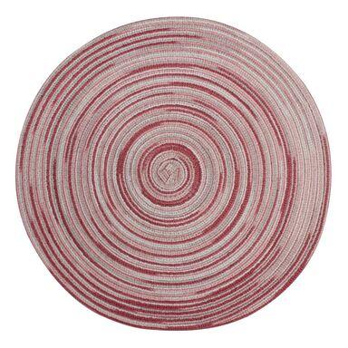 Podkładka na stół Lollipop okrągła śr. 38 cm różowa