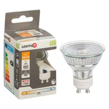 Żarówka LED GU10 (230 V) 5 W 460 lm LEXMAN