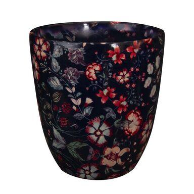 Osłonka ceramiczna 13 cm granatowa NOVA