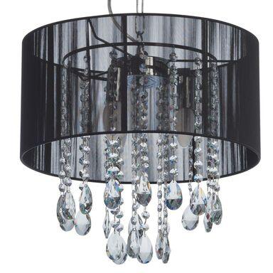 Lampa wisząca ESSENCE czarna E14 ITALUX
