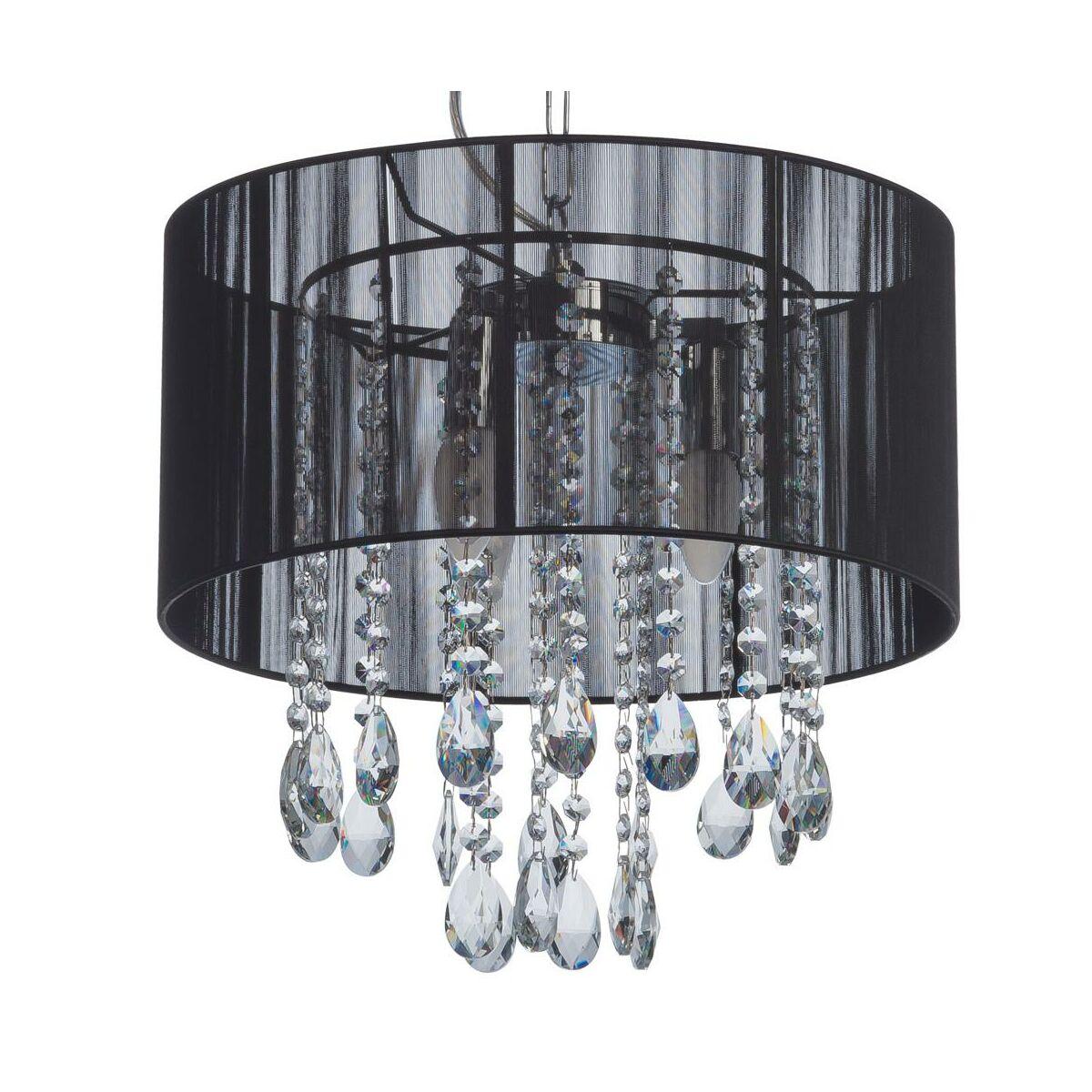 Lampa Wiszaca Essence Czarna E14 Italux Zyrandole Lampy Wiszace I Sufitowe W Atrakcyjnej Cenie W Sklepach Leroy Merlin