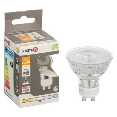 Żarówka LED GU10 (230 V) 4 W 345 lm Neutralny LEXMAN