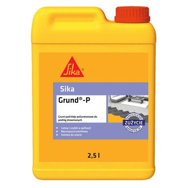 Podkład gruntujący GRUND-P 2,5L kanister SIKA