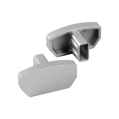 Zakończenie do profilu aluminiowego płaskiego 2 szt. srebrne
