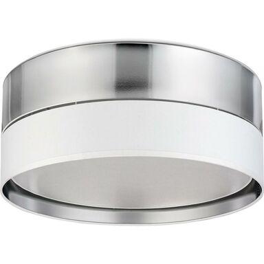 Plafon Hilton 45 cm biało-srebrny 3 x E27 TK Lighting
