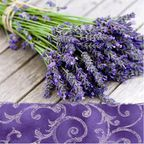 Serwetki LAVENDER IN THE COUNTRY PAW DECOR COLLECTION