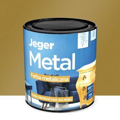 Farba do mebli METAL 0.45 l Stare złoto Metaliczna JEGER