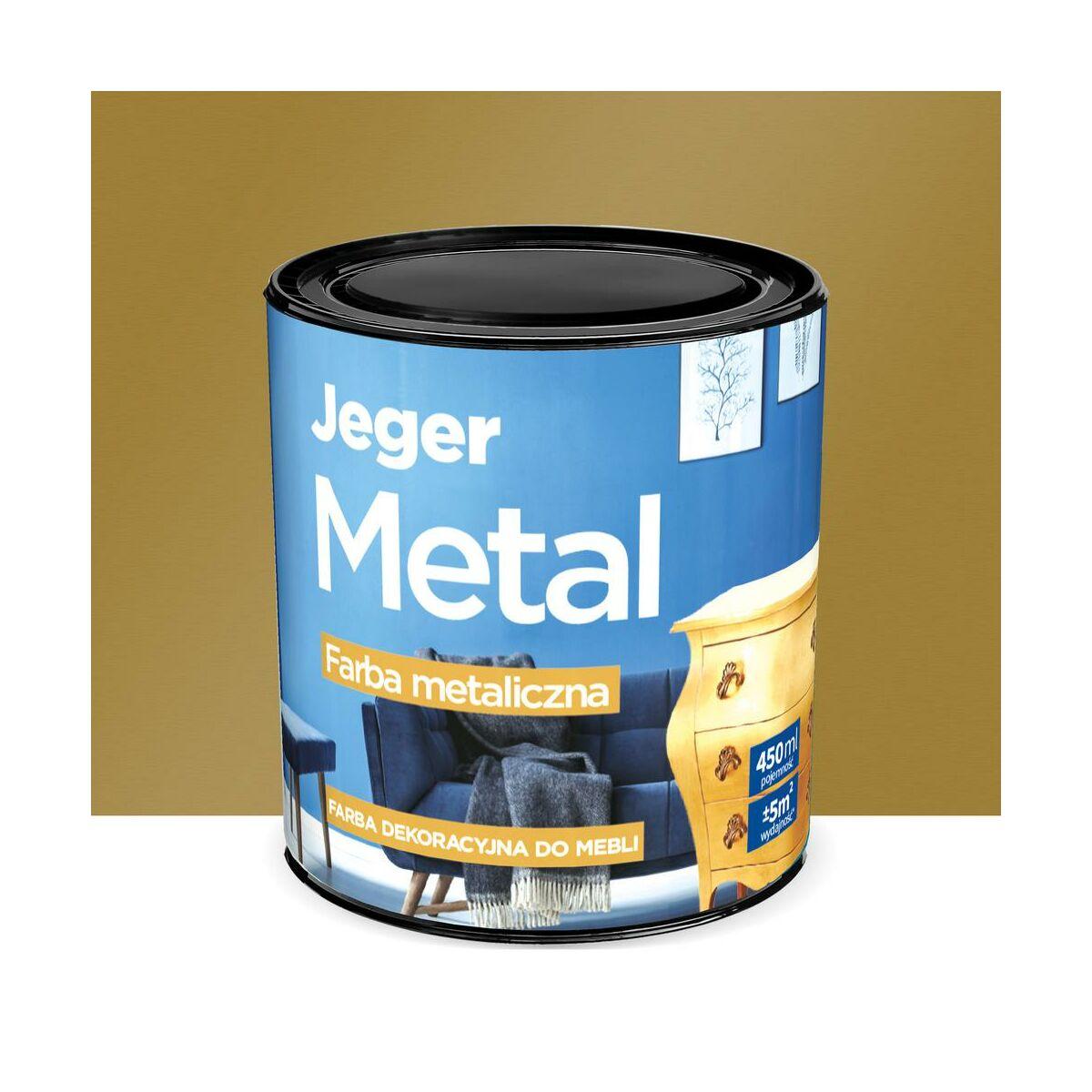 Farba Do Mebli Metal 0 45 L Stare Zloto Metaliczna Jeger Farby Do Drewna I Mebli W Atrakcyjnej Cenie W Sklepach Leroy Merlin
