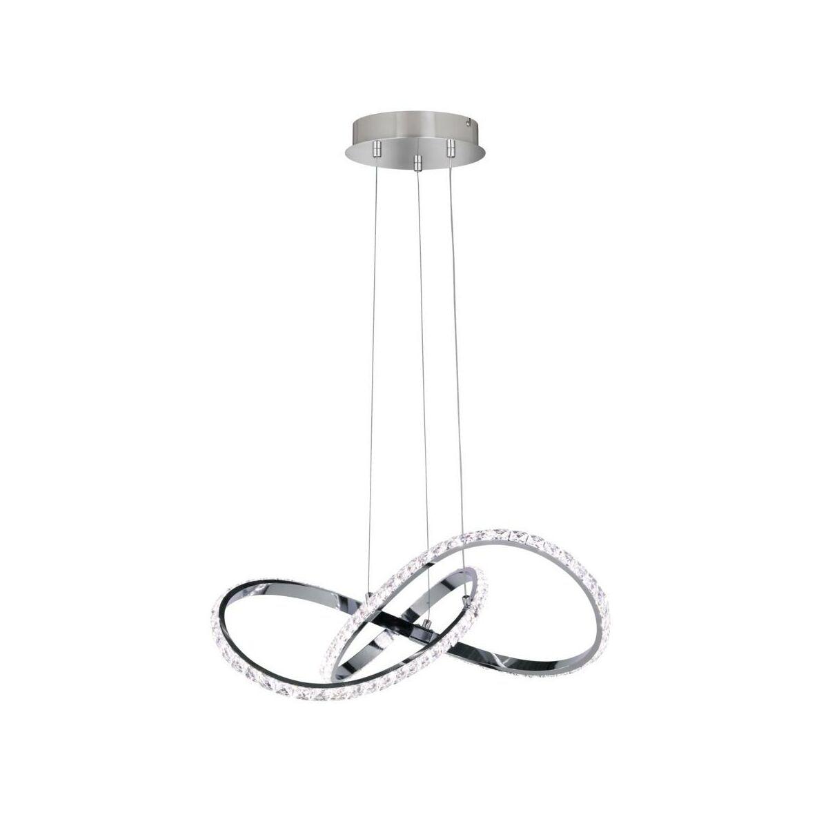 Lampa Wiszaca Prisma Chrom Led Wofi Zyrandole Lampy Wiszace I Sufitowe W Atrakcyjnej Cenie W Sklepach Leroy Merlin