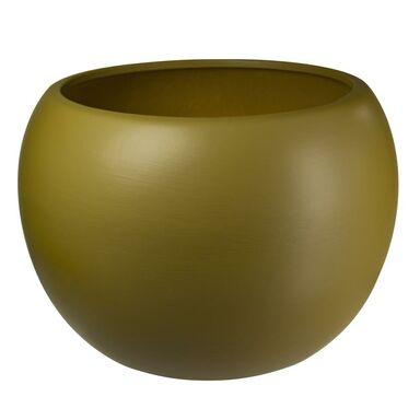 Osłonka ceramiczna 16 cm jasnobrązowa KULA 4 W0701