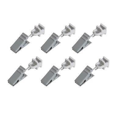 Żabki ze ślizgiem do profilu aluminiowego 10 szt. srebrne