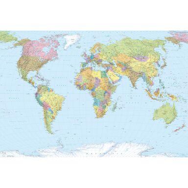 Fototapeta WORLD MAP 248 x 368 cm