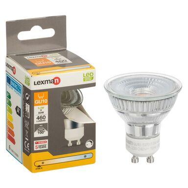 Żarówka LED GU10 (230 V) 5,3 W 460 lm Ciepła biel LEXMAN