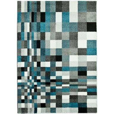 Dywan MIRAGE szary i niebieski 80 x 150 cm wys. runa 9 mm MULTI-DECOR