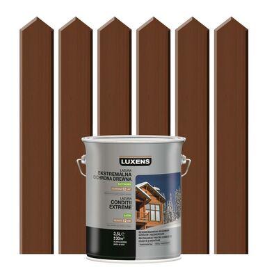 Lazura do drewna EKSTREMALNE WARUNKI 2,5 lPalisander LUXENS