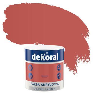 Farba wewnętrzna do ścian i sufitów KOLORY, KTÓRE INSPIRUJĄ 2.5 l Dojrzała wiśnia DEKORAL