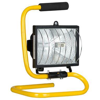 Reflektor halogenowy ACS-HALOPAK500W IP44 czarny R7S ACTIS