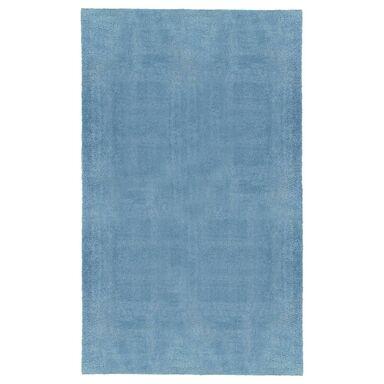 Dywan shaggy MIKRO niebieski 100 x 200 cm INSPIRE