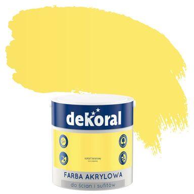 Farba wewnętrzna KOLORY, KTÓRE INSPIRUJĄ 2,5 l Koktajl bananowy DEKORAL