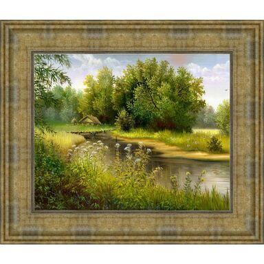 Obraz RZEKA 53 x 43 cm KNOR