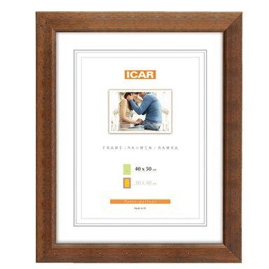 Ramka na zdjęcia KORA 40 x 50 cm brązowa drewniana