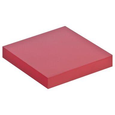 Półka KOMOROWA Czerwona lakierowana 23,5 x 23,5 cm SPACEO