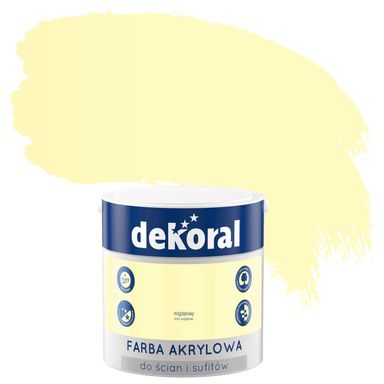 Farba do ścian i sufitów KOLORY, KTÓRE INSPIRUJĄ 2,5 l DEKORAL