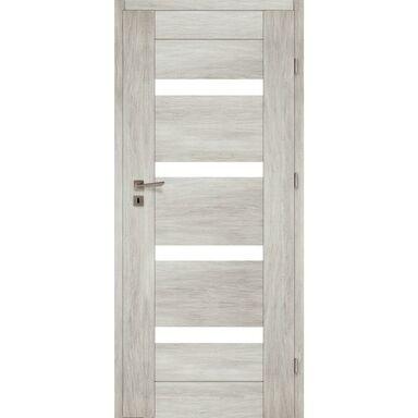 Skrzydło drzwiowe pokojowe PARMA Dąb silver 90 Prawe VOSTER