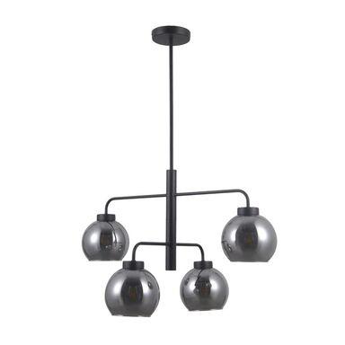 Lampa wisząca Poggi grafitowa 4 x E27 Italux