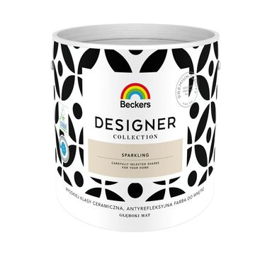 Farba wewnętrzna DESIGNER COLLECTION 2.5 l Sparkling BECKERS