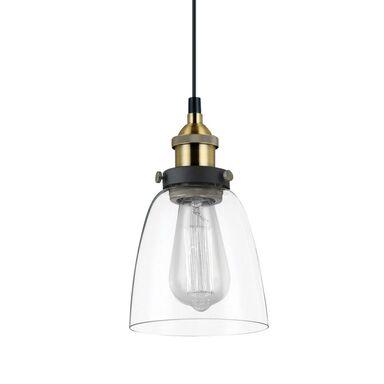 Lampa wisząca FRANCIS czarno-złota E27 ITALUX