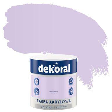 Farba wewnętrzna KOLORY, KTÓRE INSPIRUJĄ 2,5 l Zapach lawendy DEKORAL