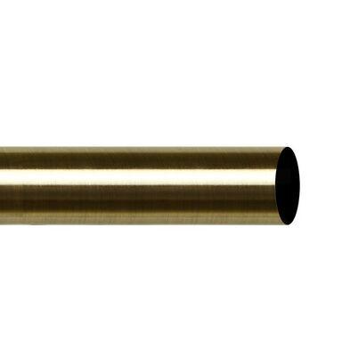 Drążek do karnisza 200 cm antyczny mosiądz 25 mm metalowy INSPIRE