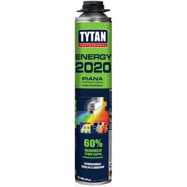 Pianka poliuretanowa pistoletowa ENERGY 2020 750 ml TYTAN PROFESSIONAL