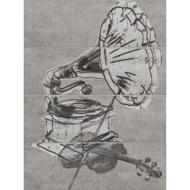Obraz CERAMIKA PARADYŻ MUSIC GRAMOPHONE