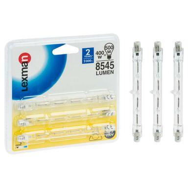 Zestaw żarników halogenowych R7S (230 V) 400 W 8545 lm LEXMAN