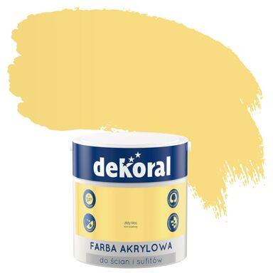 Farba wewnętrzna KOLORY, KTÓRE INSPIRUJĄ 2,5 l Złoty kłos DEKORAL