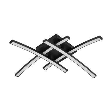 Plafon BERYL 45 cm czarny LED INSPIRE