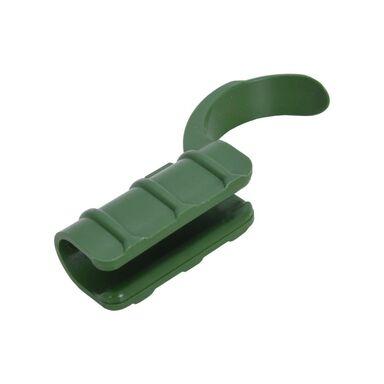 Klipsy do mocowania tyczek 16 mm 10 szt. plastikowe