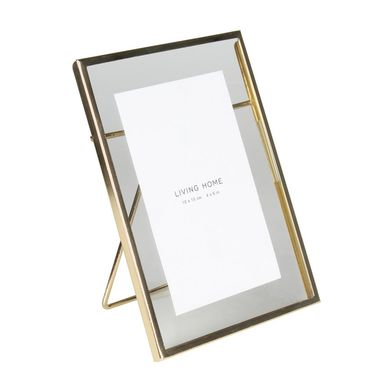 Ramka na zdjęcia Mira 10 x 15 cm złota aluminiowa
