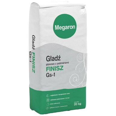 Gładź szpachlowa FINISZ Gs-1 20 kg MEGARON